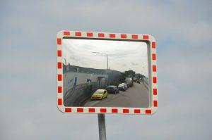 Miroir de signalisation automobile